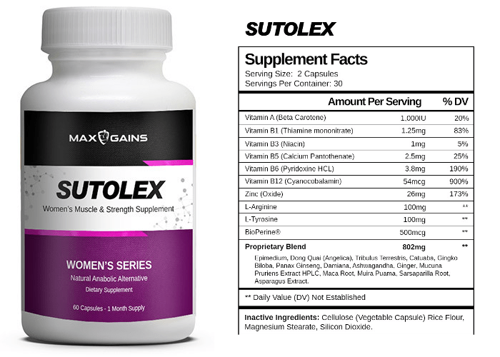 Sutolex a Safe and Legal Primobolan for Women