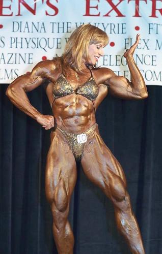 Ripped Female Bodybuilder