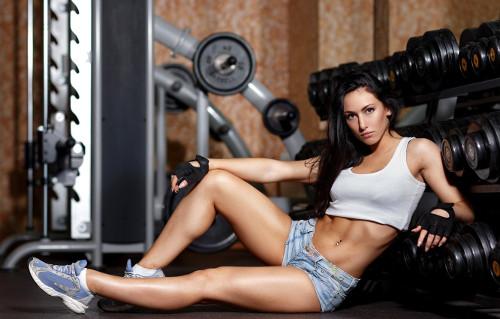 Fit Female Fitness Model